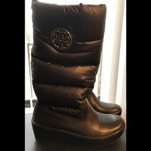 Tory Burch Puffer wedge boots